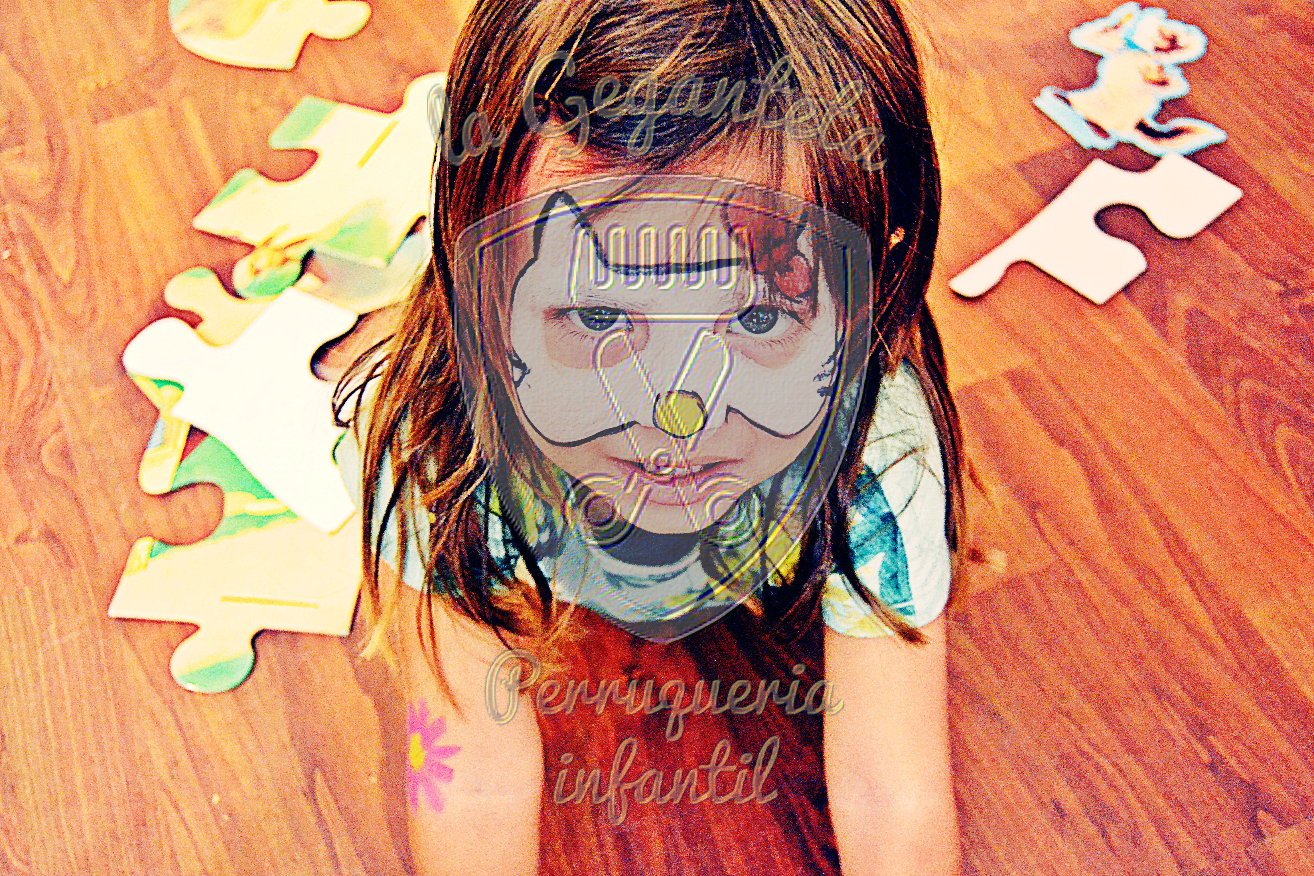 maquillaje grimas peluqueria infantil geganteta
