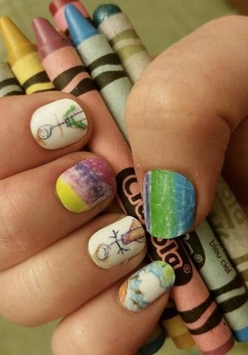 manicura cosciente uñas peluqueria infantil