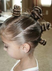 peinados peluqueria infantil