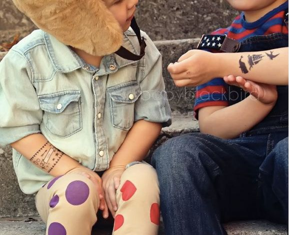 tattoo tattyoo peluqueria infantil reyes