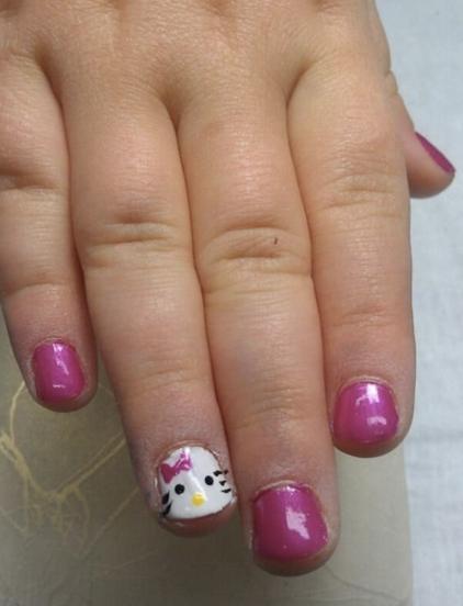 manicura consciente uñas peluqueria infantil