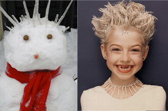 peinado peluqueria infantil geganteta frozen disney